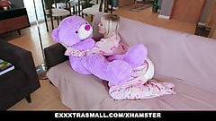 ExxxtraSmall - Small Tits Blond Gets Rocked By Huge Cock