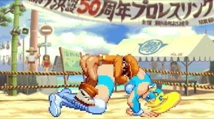 Bao vs rainbow mika hentai fight - 1 part 5