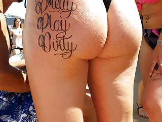 Candid Hot Big ass slutty Pawg!!
