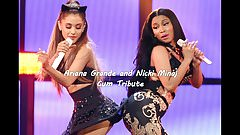 Ariana Grande and Nicki Minaj Cum Tribute
