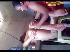 Pinky Mananita hot filipino hard fucking her housemaid