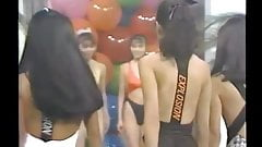 Japanese TV NN- Retro Lycra Swimsuit and Leotard Show