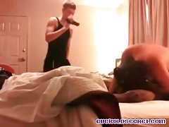 Cuckolds Secrets Young husband filming wife with BBC