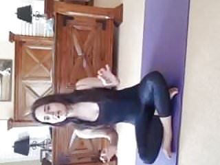 Preview 1 of Danica M. live doing yoga