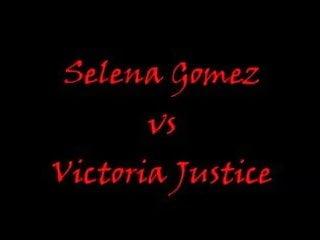 Selena Gomez Vs Victoria Justice