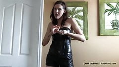 I love teasing little cum eating sluts like you CEI