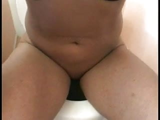 Sexy brunette bends ass over and boyfriend licks her pussy and asshole