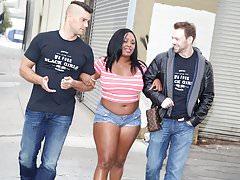 Ebony Jayden Starr Tries Double Penetration