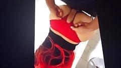 Sexy ass panties  big :)