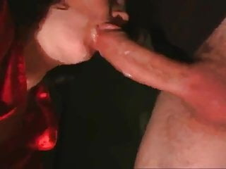 Suck My Cock With Her Red Satin Blouse , Part 1