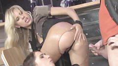 Camera inside a anus