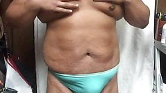 do you like me in my light blue thong?