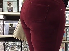 Phat african bbw booty in sweats Thumbnail