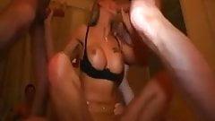 German Hot Slut Group Sex