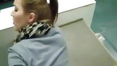 Public fuck in school