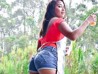 Letsdoeit Picked Up Latina Teen Has Sex With Hot Stranger