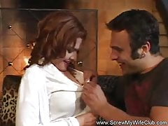 Husband Watches His Wife Screw Another Man