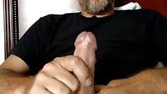hot hairy dad blows big load