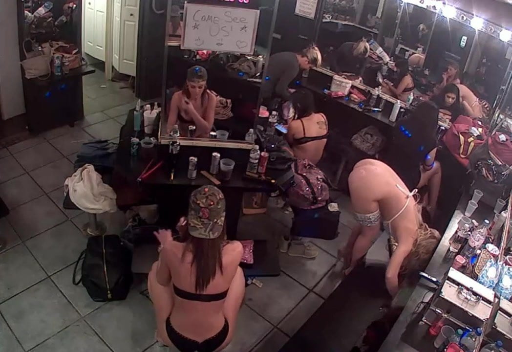 strip club changing room