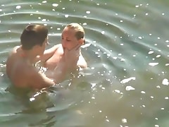 Having Sex In The Water Without Taking Off Panties