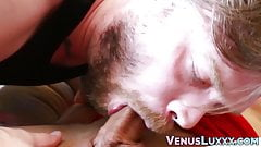 Kinky Asian tranny fucks handsome gay asshole passionately