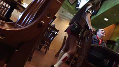 Sexy Asian waitress