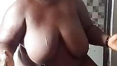 African bbw mom ass whiped for cheating