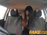 Fake Driving School pov shots students pussy swallows