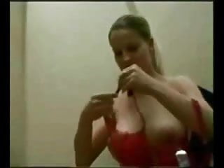 Facial changes mtf estrogen - Amateur big boobed gets quickie in changing room