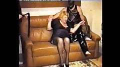 Vintage Sex Slave Getting Her Tits Busted