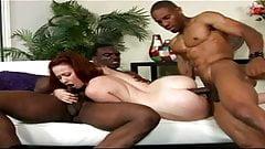 Trinity Post Geeky redhead loves black cocks