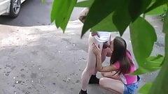 Outdoor Creampie