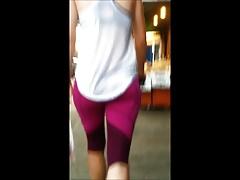 Perfect Fitness Ass, Yoga Pants, NYC