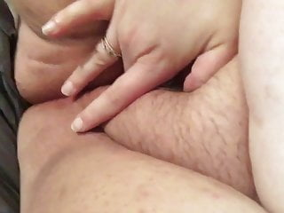 Stretching out my fat cunt hole