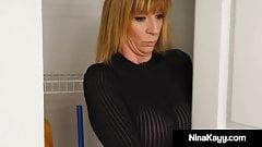 Phat Ass Nina Kayy Bangs Cheating Cock As PI Sara Jay Spies!