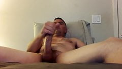 Str8 daddy bedroom wank