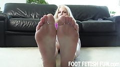 I will let you play with my soft little feet