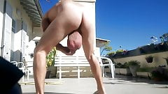 Huge balls hanging in the sun