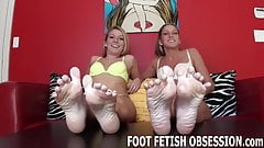 Our sexy feet will make you drool