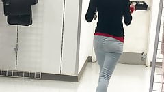 Tight Jeans Sexy Petite Candid Booty