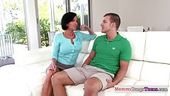 Busty cougar Veronica Avluv trio with teens
