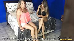 Mom and Daughter Toilet and Foot Humiliation Slave v3