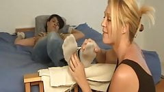 Foot tickling orgasm 3