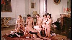 Brigitte Lahaie in orgy - La Maison des phantasmes (1978)