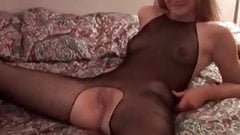 Cuckolds sissys wife fucking BBC Husband cleans up jizz