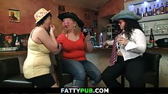 Hot bbw party with fat drunk girls