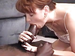Delicious MILF wife enjoys an extremely big black cock
