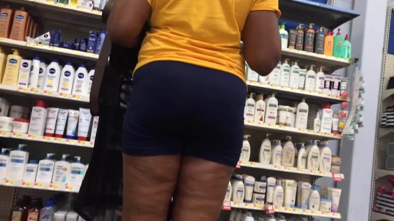 Mature Ebony Milf Booty Spandex Shorts, Porn 6D Xhamster-9787