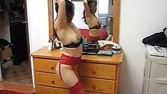 Filipina Cum Slut Gina Jones Doing her Cum Dance