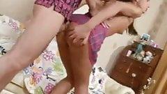 J15 Skinny teen gets her ass banged